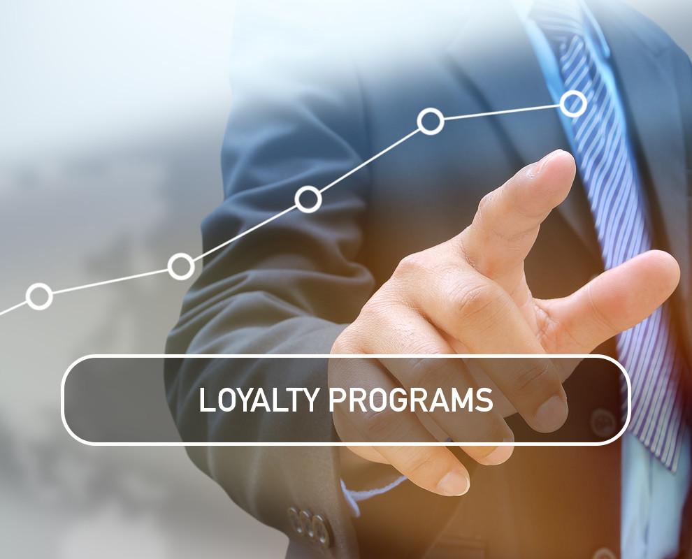 Loyalty Programs reward customers for their loyalty to your organization