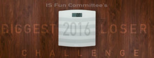 IS Fun Committee's Biggest Loser Challenge Scale