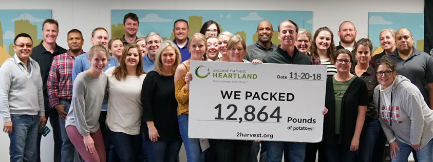 IS - Second Harvest Heartland Volunteering